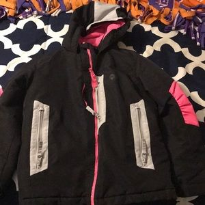 Girls Winter Jacket with Hood